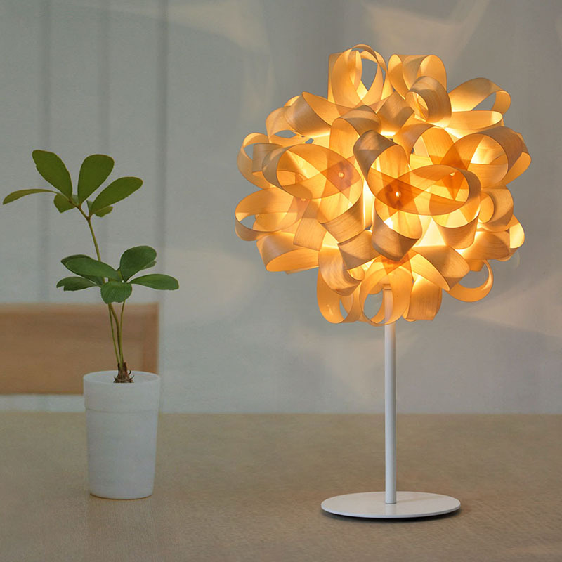 Tuda Free Shipping Wooden Table Lamp Modern Decorative Style Table Lamp For Living Room Bedroom Table Lamp tuda 27x46cm free shipping modern minimalist style metal table lamp creative acrylic led table lamp for bedroom living room