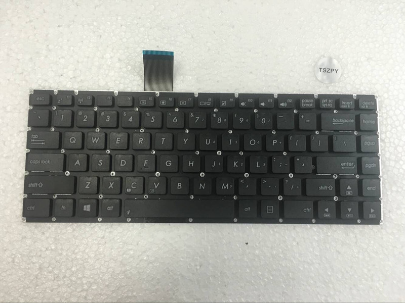NEW FOR <font><b>ASUS</b></font> K46 K46CB <font><b>K46CM</b></font> K46C K46E BLACK <font><b>KEYBOARD</b></font> no frame- US English image
