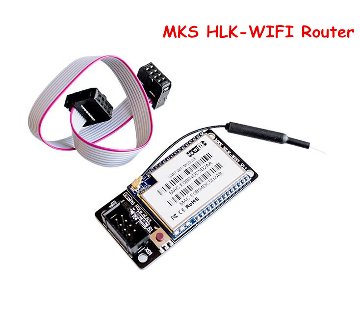 Wireless Router HLK-RM04 MKS HLKWIFI Remote Controller WIFI Module For 3D Printer MKS TFT32/MKS Smoothieboard 3d printing wireless router hlk rm04 wifi module mks hlkwifi v1 1 remote control for mks tft touch screen high stability