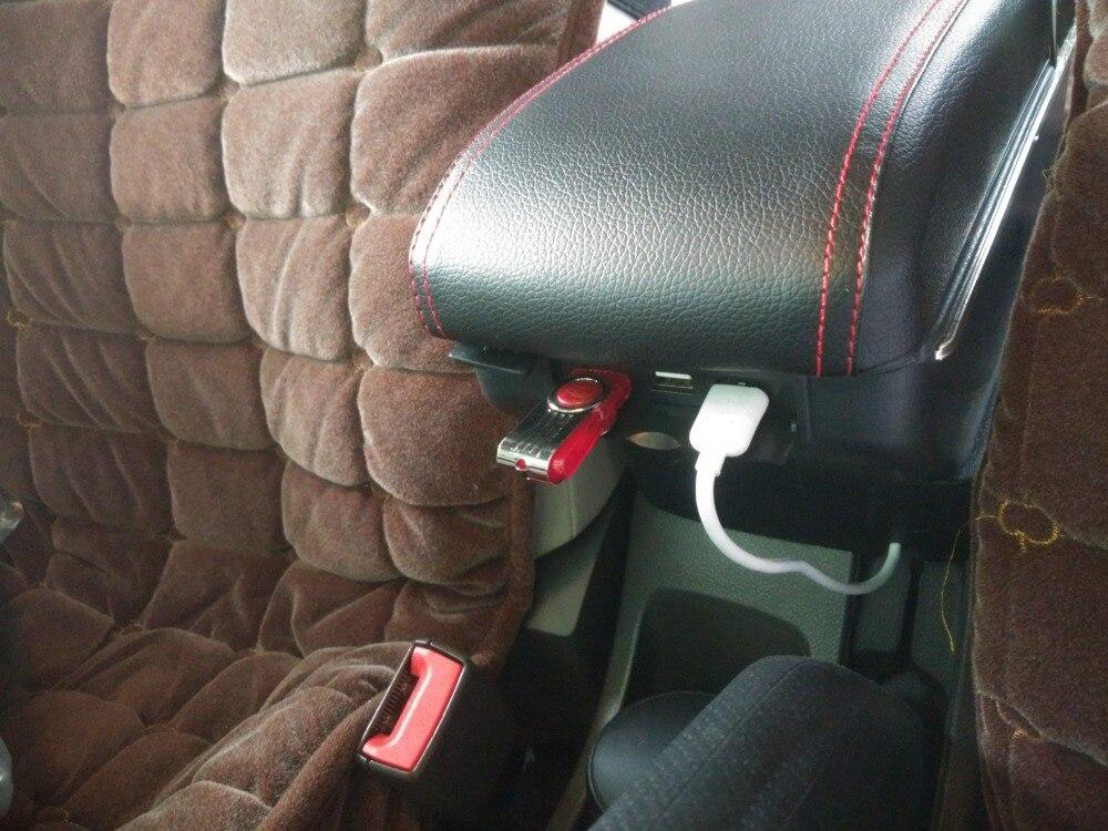 Pour Renault Dacia Duster Logan Lodgy boîte accoudoir central boîte de contenu de Magasin avec porte-gobelet cendrier Générique modèle