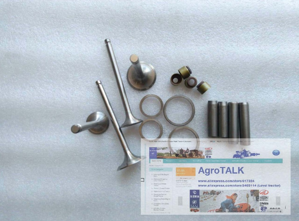 Fengshou FS180 184 , Estate 184, with engine J285T, the set of valve repair kit as showed jiangdong engine parts for tractor the set of fuel pump repair kit for engine jd495