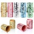 Cuero de LA PU Pro Pinceles de Maquillaje Kits Vacío Portavasos Cepillos Comestic Organizador Caso 5 Colores Para Elegir