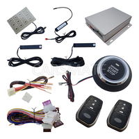 Universal PKE Car Alarm System Push Button Start Remote Start Engine With Password Keyboard Many Rolling Code Power Off Memory