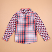 Brand Tops blouse button down casual checked clothes Baby boy shirt Kids shirts boys 3 10 years