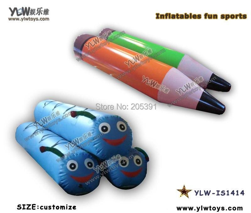 Jouets gonflables pour la concurrence, parc gonflable de terrain de jeu, jouets gonflables de sport concurrentiel