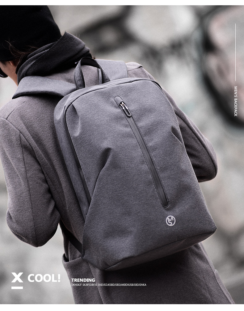 2018 MS Brand Water Repellent 15.6inch Laptop Backpack Men ... 09f5a2314c804