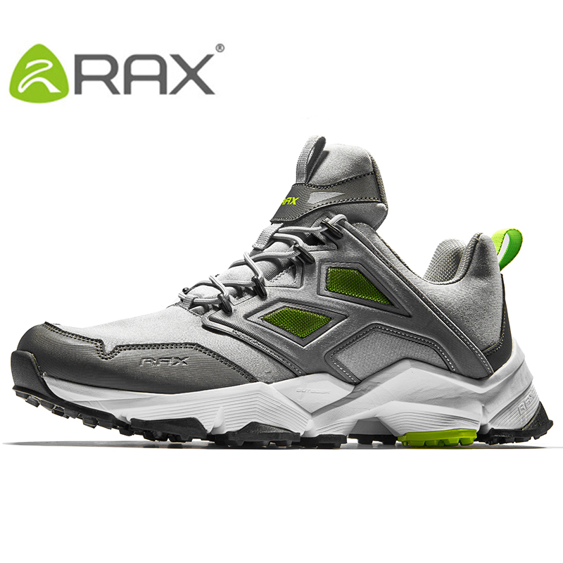 RAX 2017 Mens Hiking Shoes Men Outdoor Trekking Walking Shoes Outdoor Sports Sneakers Men Large Size Hiking shoes Men rax 2015 mens outdoor hiking shoes breathable mesh suede trekking shoes men genuine leather sneakers size 39 44 hs25