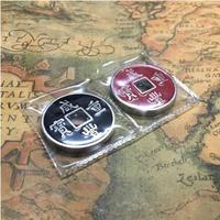 The Hopping Traditional Chinese Coins Magic Trick Street Magic Mind Magic Illusion Close Up Fun Magic