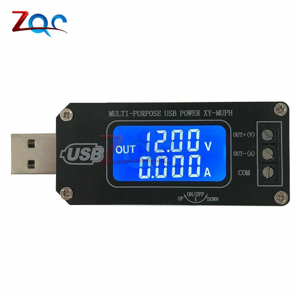 DC-DC Dual Systeem CNC USB Step Up/Down Buck Boost Voeding Voltage Regulator Desktop Power Module 5 V tot 3.3 V 9 V 12 V 24 V