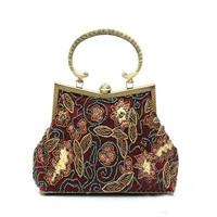 New designer Luxury Women evening Bags floras beaded Purses Ladies clutches Handbags chian Shoulder Bag Bolsas Femininas WY80