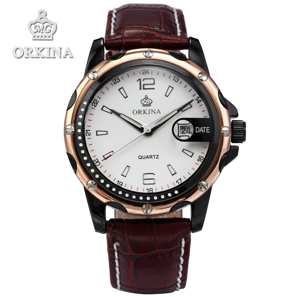 Orkina Promotion Relojes Mujer 2016 New Clock Men Elegant Armbanduhr Herrenuhr Quarzuhr Uhr Cool Horloges orkina gold watch 2016 new elegant armbanduhr herrenuhr quarzuhr uhr cool horloges mannen gift box wrist watches for men