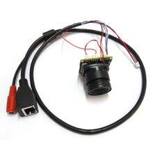 2mp Full HD CCTV 1080P IP Camera Module PCB Main Board 2.0mp Hisilicon Onvif +3mp CS lens IRCUT