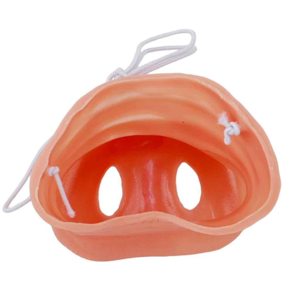 1pc symulacja świnia nos z z gumką zwierząt maska kostiumowa Halloween Party Prop kostiumy na Halloween