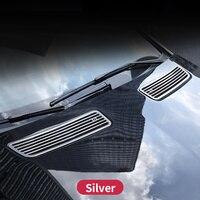 Для Mercedes benz R300 R320 R350 R400 W251 класса 2010 2018 спереди выхлопные отделкой полосы аксессуары