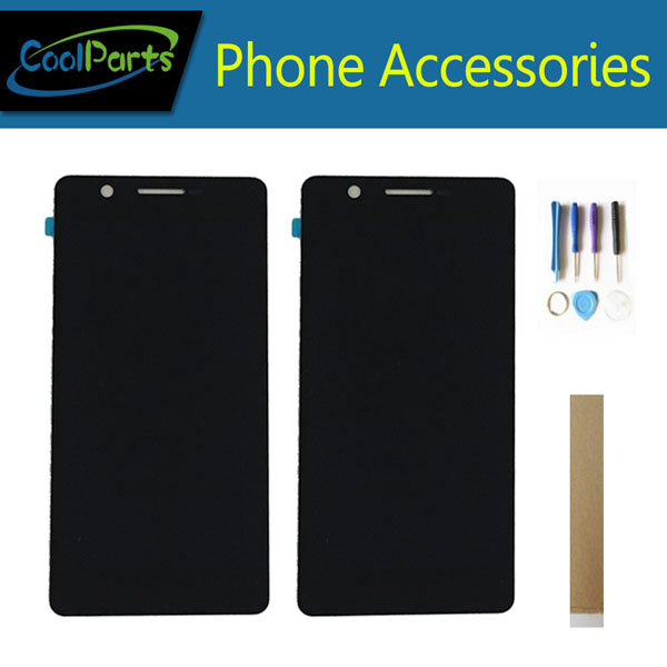 For Philips Xenium S386 LCD Display Screen And Touch Digitizer Assembly Black Color With Tools&tape