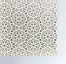 WXSHSH Window Film White Flower Pattern Privacy Glass Frosted Static Cling No Glue Anti-UV Sticker