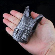 Game PUBG AWM M24 98K ALL Rifle Model Playerunknown's Battlegrounds Cosplay Costumes Props Alloy Armor Key Chain Keychain