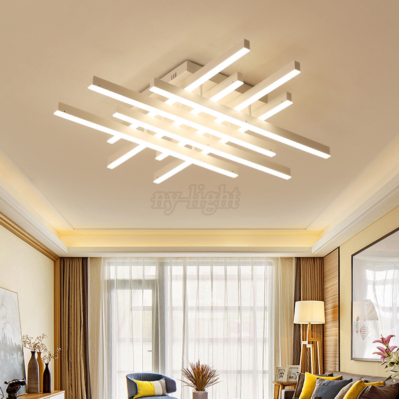 Modern Creative Aluminum Ceiling Light Surface Mounted Ceiling Lamp for Foyer Bedroom Living Room