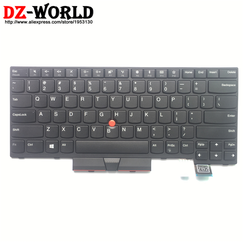 New Original US English Keyboard for Lenovo Thinkpad T470 T480 A475 A485 Teclado No Backlit 01HX379 01HX339 01HX299 SN20P41721-in Replacement Keyboards from Computer & Office    1