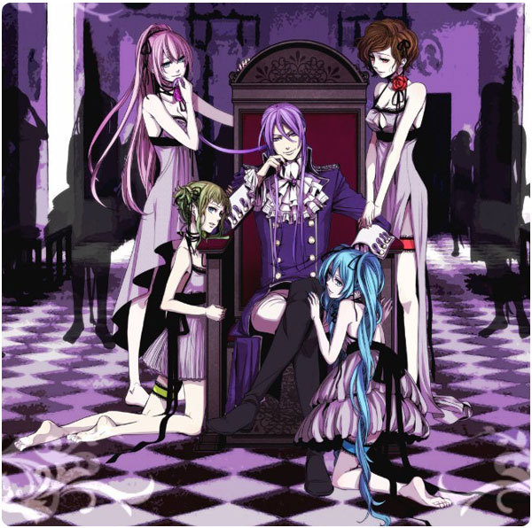Vocaloid 2 Cosplay Outfit The Seven Deadly Sins The Madness Of Duke Venomania Kamui Gakupoid Costume H008