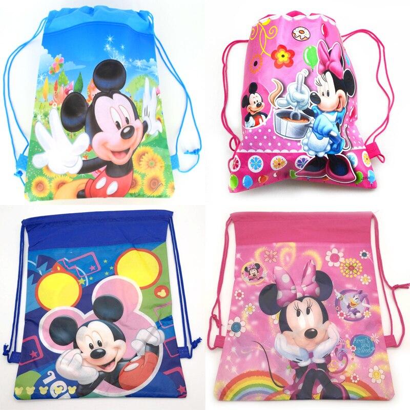 Minnie Mouse Baby Shower Party Favors: 1pcs/lot Decoration Party Mochila Baby Shower Kids Girls