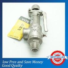 DN15 Небольшой Внешний Поток Предохранительного Клапана Промышленности Клапан Для Воздуха, аммиака, нефти