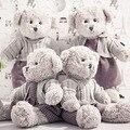Горячая 1 шт. 45 СМ Kawaii Teddy Bear Плюшевые Игрушки Милые Мягкие пара Медведей Мягкие Детские Игрушки Ребенка Huggable Куклы Дети Девушки подарки
