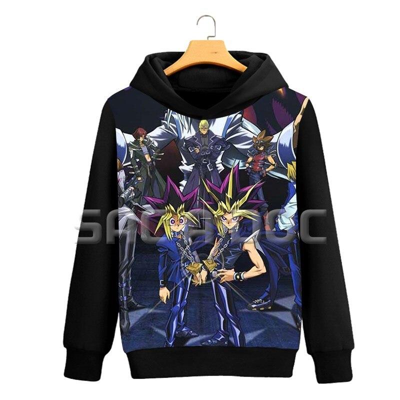 Men's Clothing Hoodies Mutou/kaiba 3d Printed Women Men Sweatshirts Casual Long Sleeve Coat Autumn Winter Pullover Hoodies Anime Yu-gi-oh