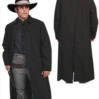 Скалли RW107 BLK S мужские Rangewear холст Duster куртка черный маленький