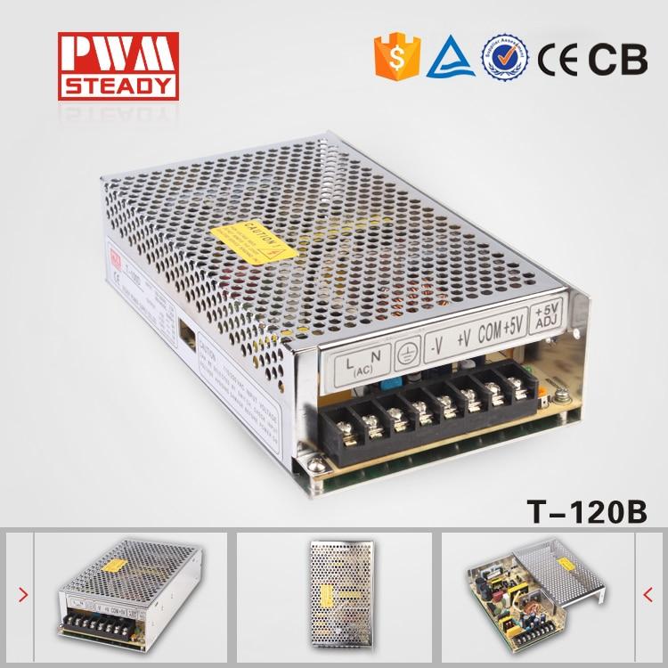 (T-120B) 120W Triple ac dc switched power supply 5v 12v -12v triple output power supply 120W термометр vst 7045v