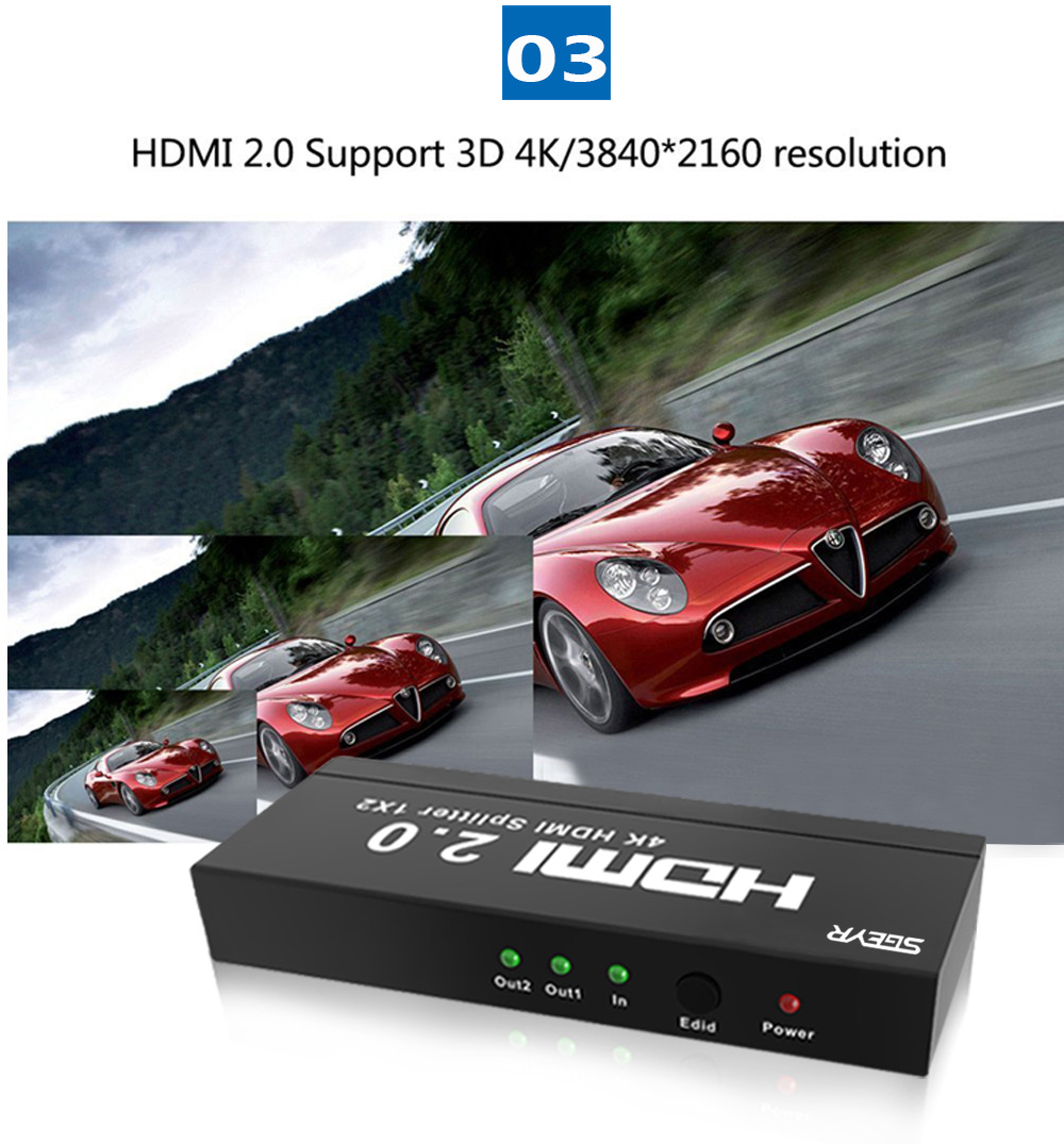 2 port HDMI2.0 splitter (4)