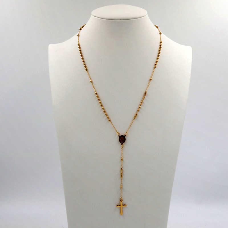 collier perle catholique