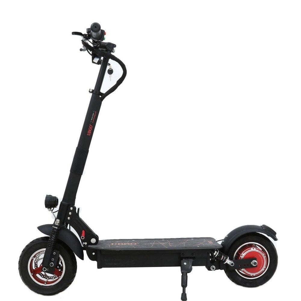 UBGO 1003 Único Driver 10 POLEGADAS Scootor Elétrica Dobrável