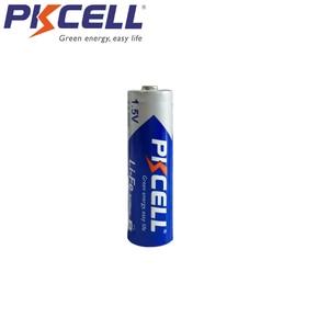 Image 3 - 16 sztuk/partia PKCELL fr1485 FR6 L91 LiFeS2 AA 1.5V baterie litowo żelazne 3000mAh li fe AA baterii do aparatu cyfrowego