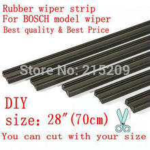 Free shipping Auto Car Vehicle Insert Rubber strip Wiper Blade (Refill) 6mm Soft 28″ 700mm 2pcs/lot car accessories