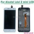 100% testado para alcatel one touch idol 2 mini 6016 Ot6016 Display LCD touch Screen digitador Assembléia com Quadro Livre grátis