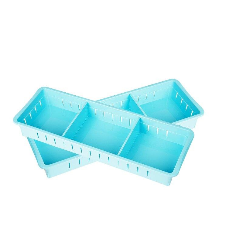 Green free separation of narrow 3 grid drawer plastic finishing ...