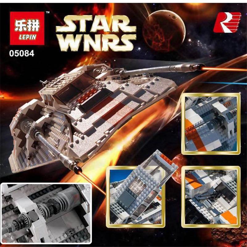 05084 1457Pcs NEW Lepin Star War Series The Rebel Snowspeeder Set Educational Building Blocks Bricks Boy Toys Model Gifts