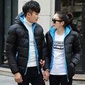 2016 Venda Quente Da Moda Casual homens jaqueta de inverno Jaqueta Casaco Confortável & Alta Qualidade 3 Cores Plus Size XXXL