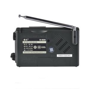 Image 2 - TECSUN R 909 AM/FM/SW רדיו 1 7 9 להקות העולם בנד מקלט נייד רדיו FM: 87.0 108MHz/ŸMW: 525 1610 kHz רטרו כיס רדיו