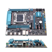 LEORY X79 Computer PC Gaming Mainboard Use Desktop Motherboard ATX For Intel X79 LGA 2011 DDR3 Support For i7/E5 with SATA Cable