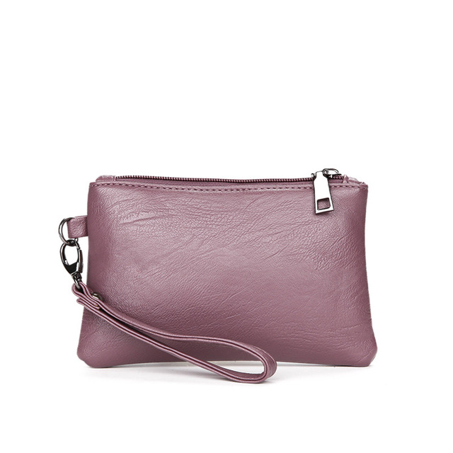 solid 3 pcs/set PU leather shoulder strap bag women 2018 New high quality crossbody bags Ladies fashion small clutch bag 1