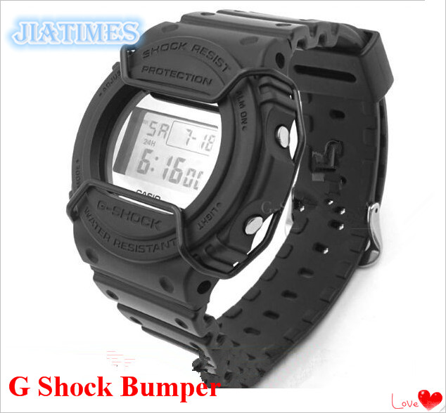 Watch Bumper! 1pc <font><b>DW</b></font>-<font><b>5700</b></font> 5735 5750 Wire Guard Protector 4 Colors to Select for G/ Shock image