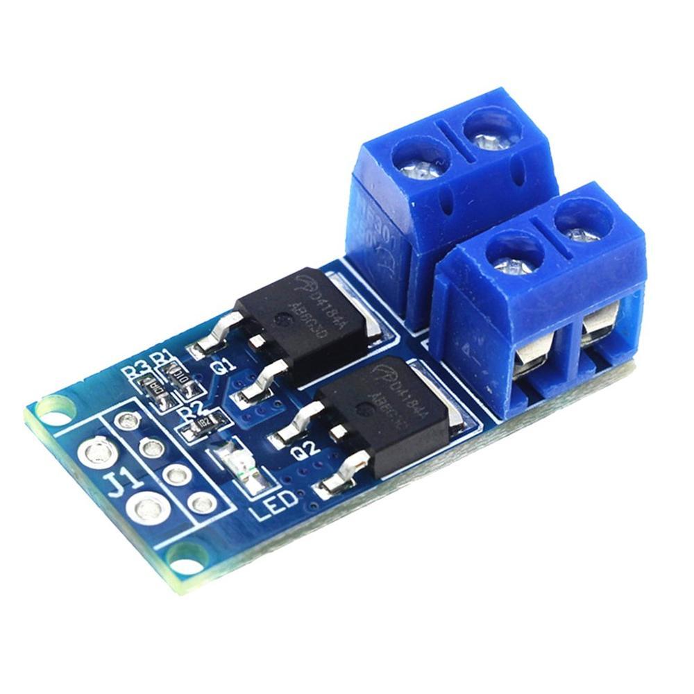 15A 400W MOS FET Trigger Switch Drive Module DC 5V-36V PWM Regulator Control Panel Motor Control Board