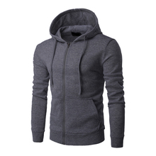 Vertvie New Arrival Mens Hoodies Sport Jacket Zipper Pockets Hooded Full Sleeve Running Jacket Coat Gym Fitness Sportswear Shirt