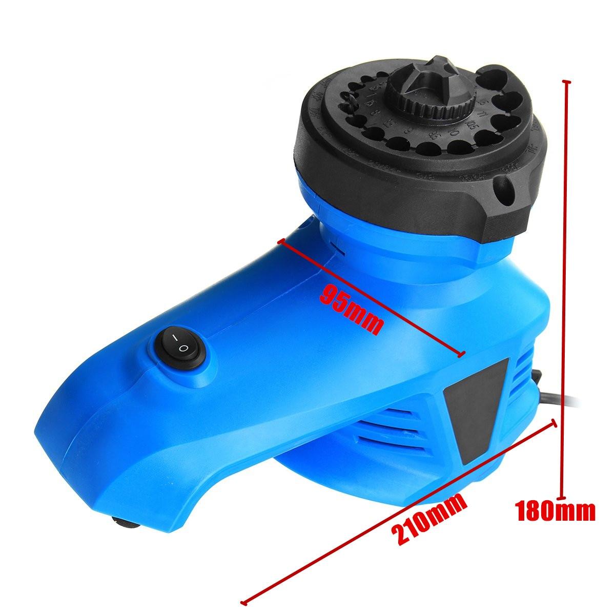 Elektrische Bohrer Spitzer Twist Bohrer Schleifen Maschine Bohrer Bohrer Schleifer Fräsen Maschine 3-12mm 220V
