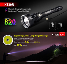 KLARUS XT30R 820m Range 1800 Lumens CREE XHP 35 HI D4 LED Flashlight Magnetic Rechargegable Lantern Tactical Hunting Setting