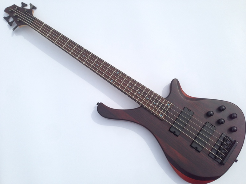high quality 5 string permance bass guitar through neck in guitar from sports entertainment on. Black Bedroom Furniture Sets. Home Design Ideas