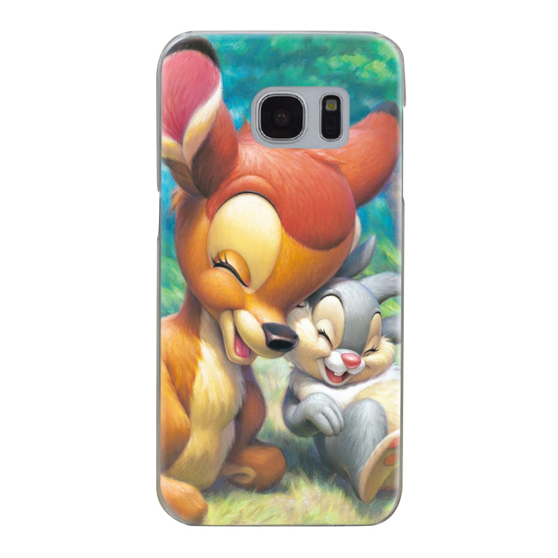 H040 Bambi And Thumper Transparent Hard PC Case Cover For Samsung Galaxy S 3 4 5 6 7 8 Mini Edge Plus Note 3 4 5 8