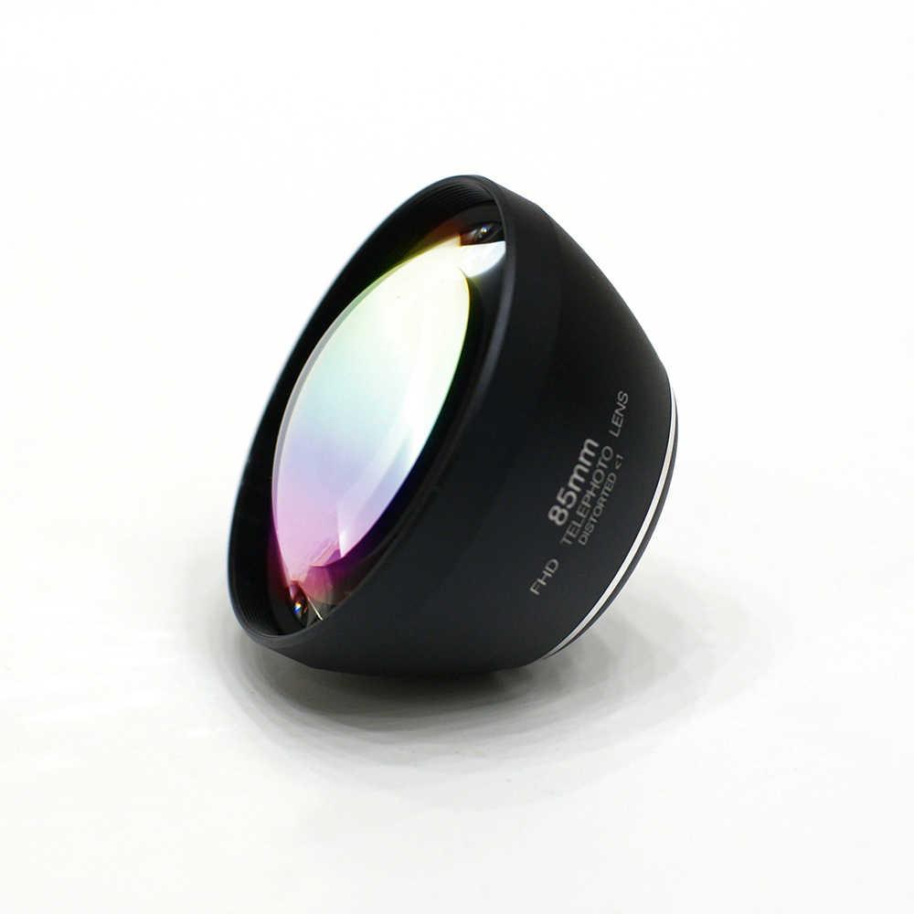 Moveski LT-085 טלפון סלולרי מצלמה עדשת טלה HD 3X אופטי 85mm דיוקן טלפון עדשה תואם עם iPhone אנדרואיד טלפונים